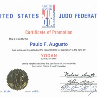 USJF Judo 4th degree Black Belt Certification Final 2-2