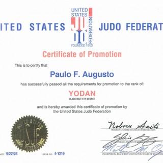 USJF Judo 4th degree Black Belt Certification Final 2-2