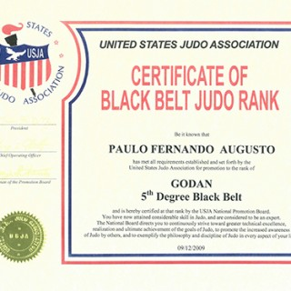 Judo Certifications - sdbjj
