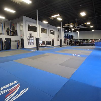 8 Official Sparring Areas