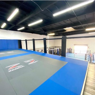 Additional 2 Official Sparring Areas